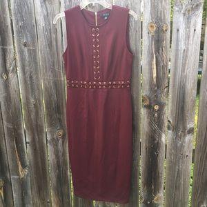 Spenser Maroon Mini Dress